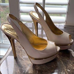 Peep Toe Platform Heel